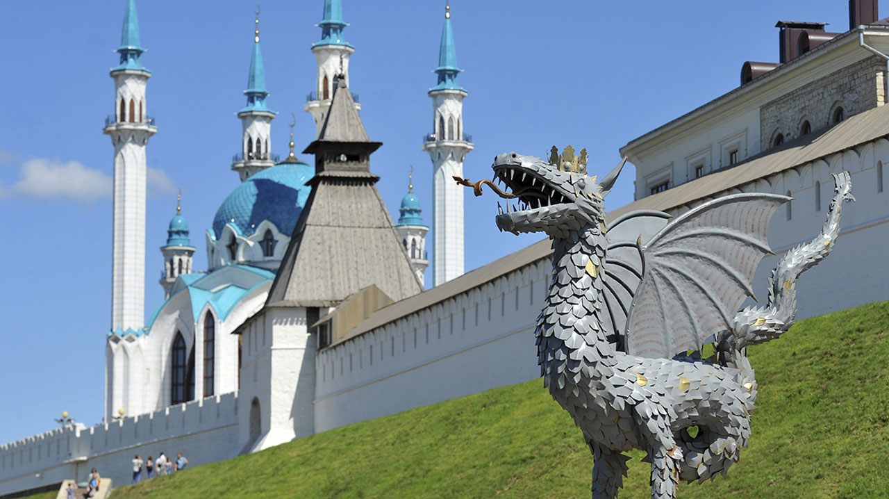 An image of the Kazan Kremlin
